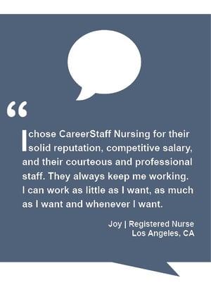 Nurse Testimonials 3